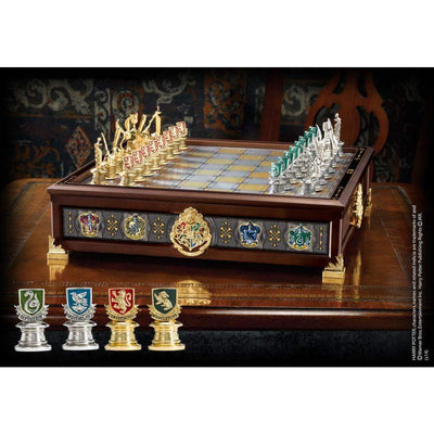 Noble Collection Novelty The Hogwarts Houses Quidditch Chess Set