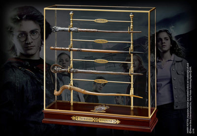 Noble Collection Harry Potter TriWizard Champions Wand Set