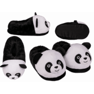 Out of the Blue Novelty Cozy Panda Slippers
