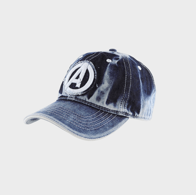 Playsmart Apparels CAP W/ APPLIQUE EMB : AVENGERS - DENIM BLUE