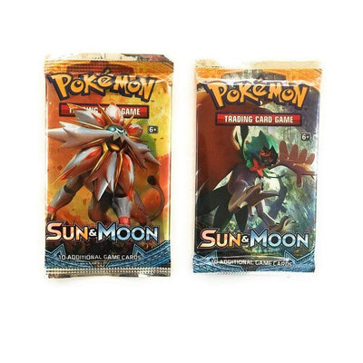Pokemon TCG Cards Pokemon Card Game Sun and Moon Booster Pack (10 cards)