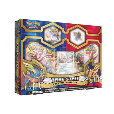 Pokemon TCG Cards Pokemon TCG: Darkness Ablaze - Figure & Pin Premium Collection - Zacian / Zamazenta