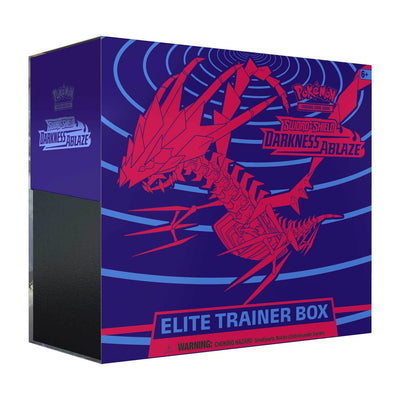 Pokemon TCG Cards Sword & Shield Darkness Ablaze Elite Trainer Box