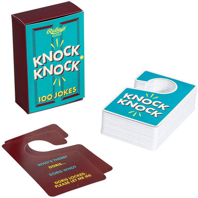 Ridley's Games Stationery 100 Knock Knock Jokes