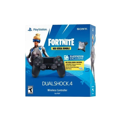 Sony Controller Dualshock 4 Black w/ Fortnite Voucher 2019