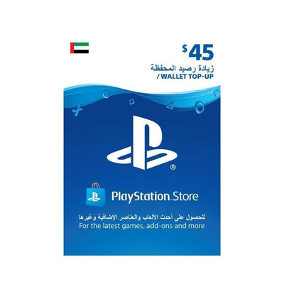 Sony Digital Currency PlayStation Network Top-Up Wallet 45 USD