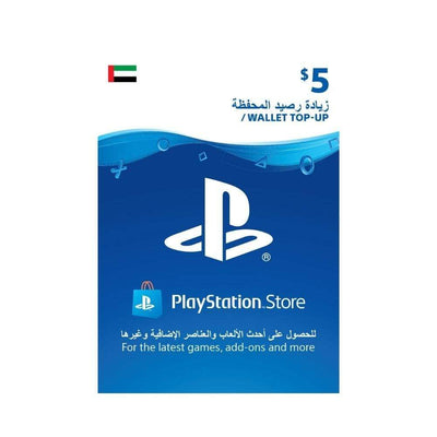 Sony Digital Currency PlayStation Network Top-Up Wallet 5 USD