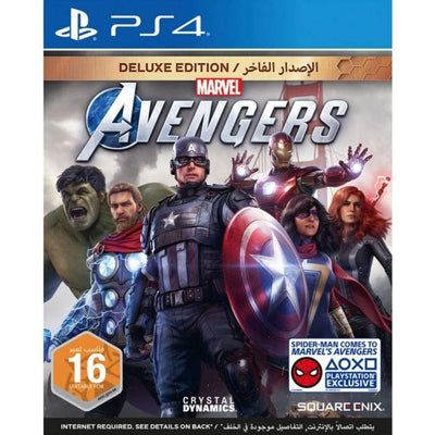 Square Enix Game Marvel Avengers Deluxe Edition (PS4)
