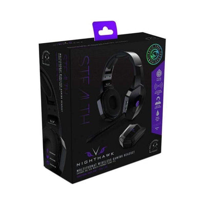 Stealth Gaming Headset Multiformat Stereo HS Wireless Stealth Nighthawk