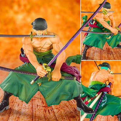 Tamashii Nation PVC Figures Figuarts Zero Pirate Hunter -Zoro-