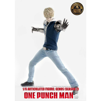 ThreeZero 1/6th Scale Figure ONE PUNCH MAN: GENOS ( SEASON 2) - Deluxe