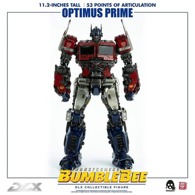 ThreeZero PVC Figures Transformers Bumblebee DLX Optimus Prime