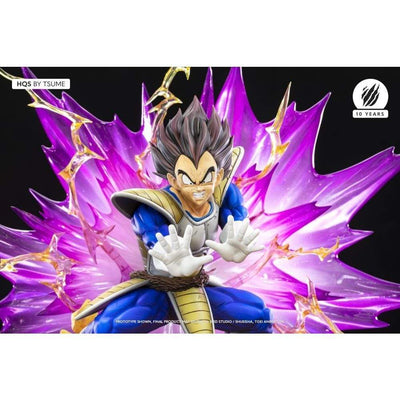 Tsume Art Resin Statues Dragon Ball Z HQS Vegeta Galick Gun 1/6 Scale Limited Edition Statue