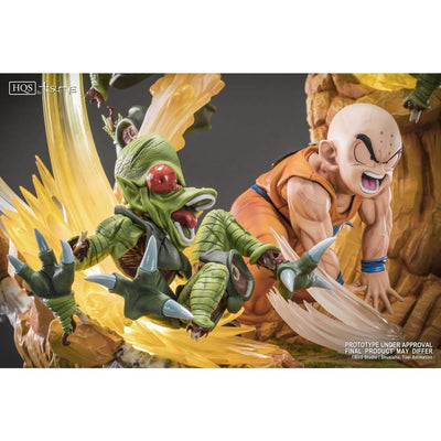 Tsume Art Resin Statues KRILIN VS THE SAIBAIMEN HIGH BY TSUME
