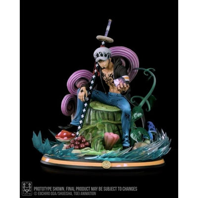 Tsume Art Resin Statues Trafalgar D. Water Law HQS