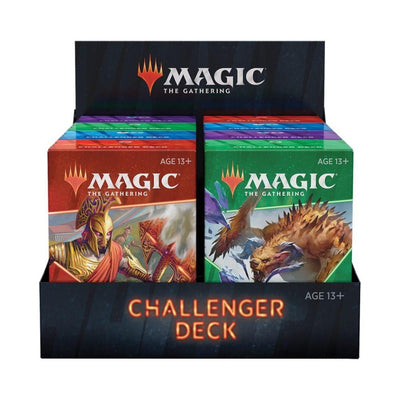 Wizard of the Coast Challenger Decks MTG - Challenger Deck 2021 Display (8 Decks) - EN