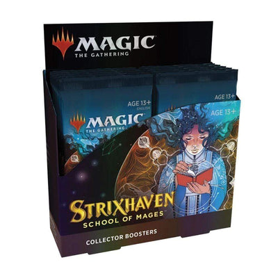 WIZARDS OF THE COAST Trading Card Games MTG - Strixhaven: School of Mages Collector Booster Display (12 Packs) - EN