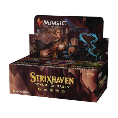 WIZARDS OF THE COAST Trading Card Games MTG - Strixhaven: School of Mages Draft Booster Display (36 Packs) - EN