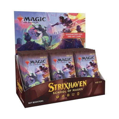 WIZARDS OF THE COAST Trading Card Games MTG - Strixhaven: School of Mages Set Booster Display (30 Packs) - EN