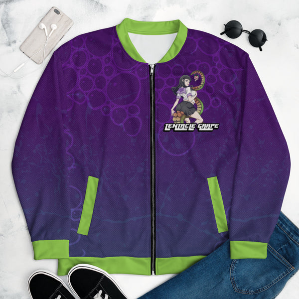 Tentacle Grape Bomber Jacket