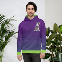 Tentacle Grape Unisex Hoodie