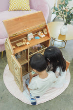 Let's talk about the benefits of playing with a dollhouse!