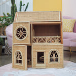 Aria's Victorian Dollhouse | Shop Rattan Toys and Furniture Online | Kathy's Cove