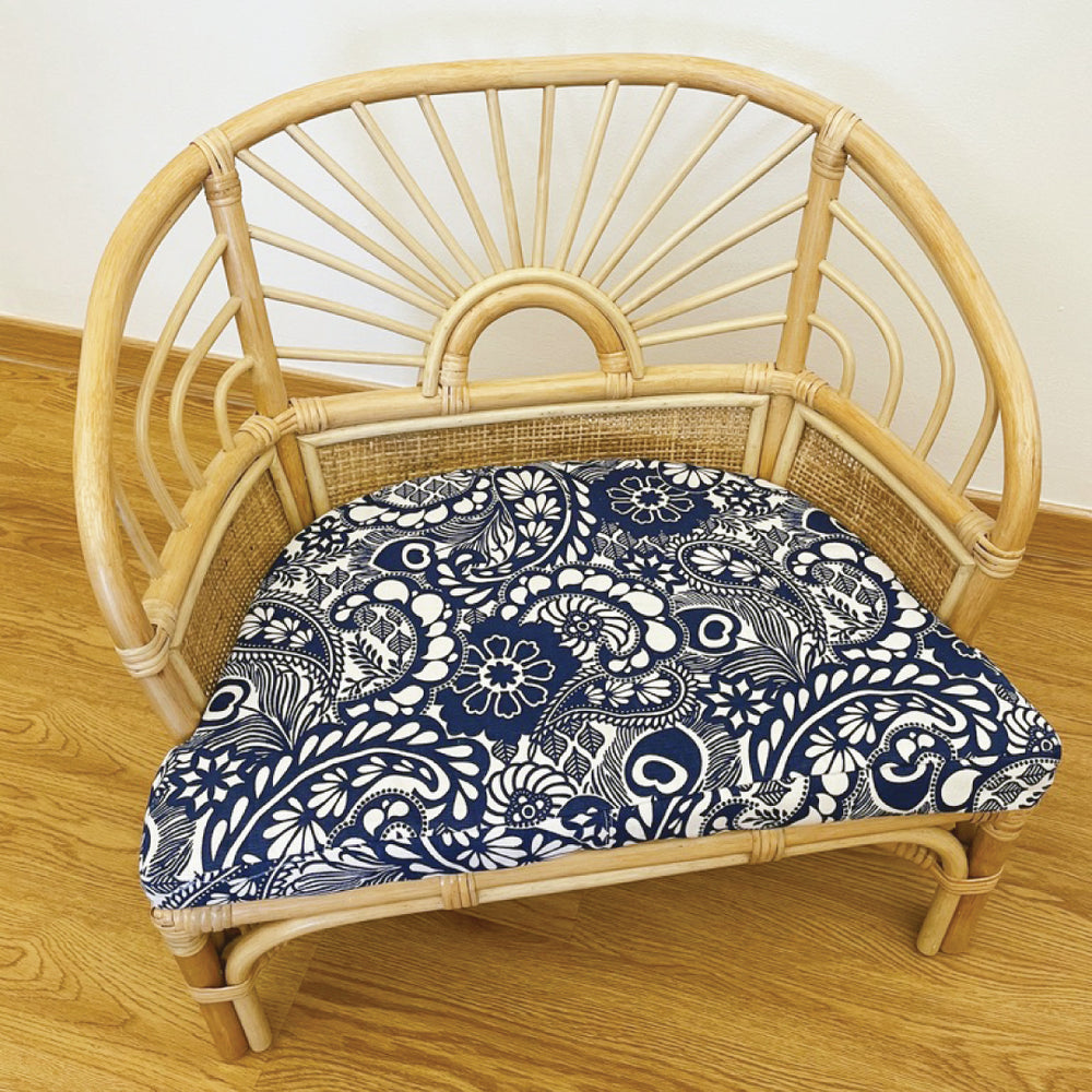 Cushion Cover For Rattan Children Reading Armchair | Shop Rattan Furniture & Toys Online | Kathy's Cove