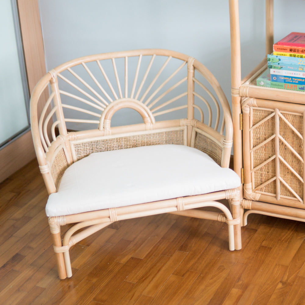 Hope's Sunrise Reading Armchair with Cushion | Shop Rattan Toys & Furniture Online | Kathy's Cove