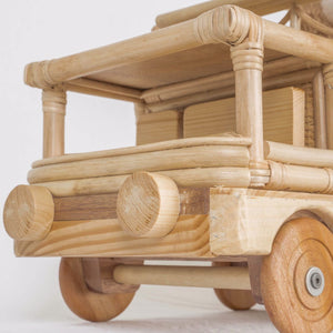 Howard's Moving Books & Toys Storage Truck | Shop Rattan Toys & Furniture Online | Kathy's Cove