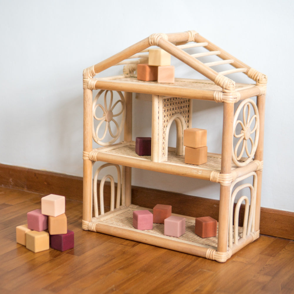 Jesse's Portable Dolls and Toys Playhouse | Shop Rattan Toys and Furniture Online | Kathy's Cove