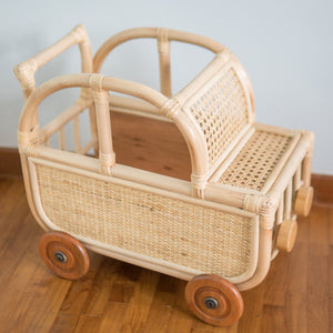Lewis' Toys Storage Car |  Shop Rattan Toys & Furniture Online | Kathy's Cove