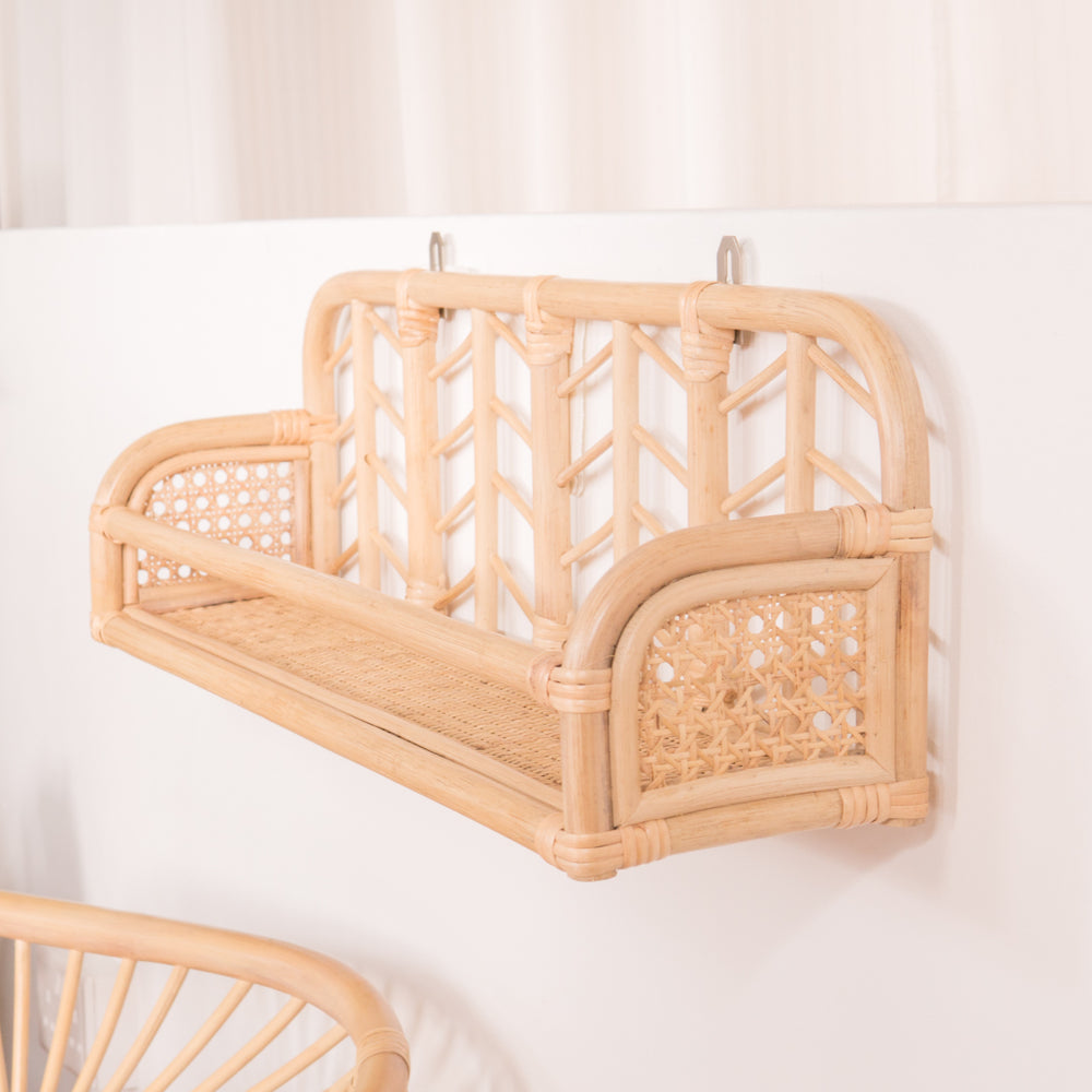 Matilda's Books and Display Ledge | Buy Rattan Furniture and Rattan Toys Online | Kathy's Cove