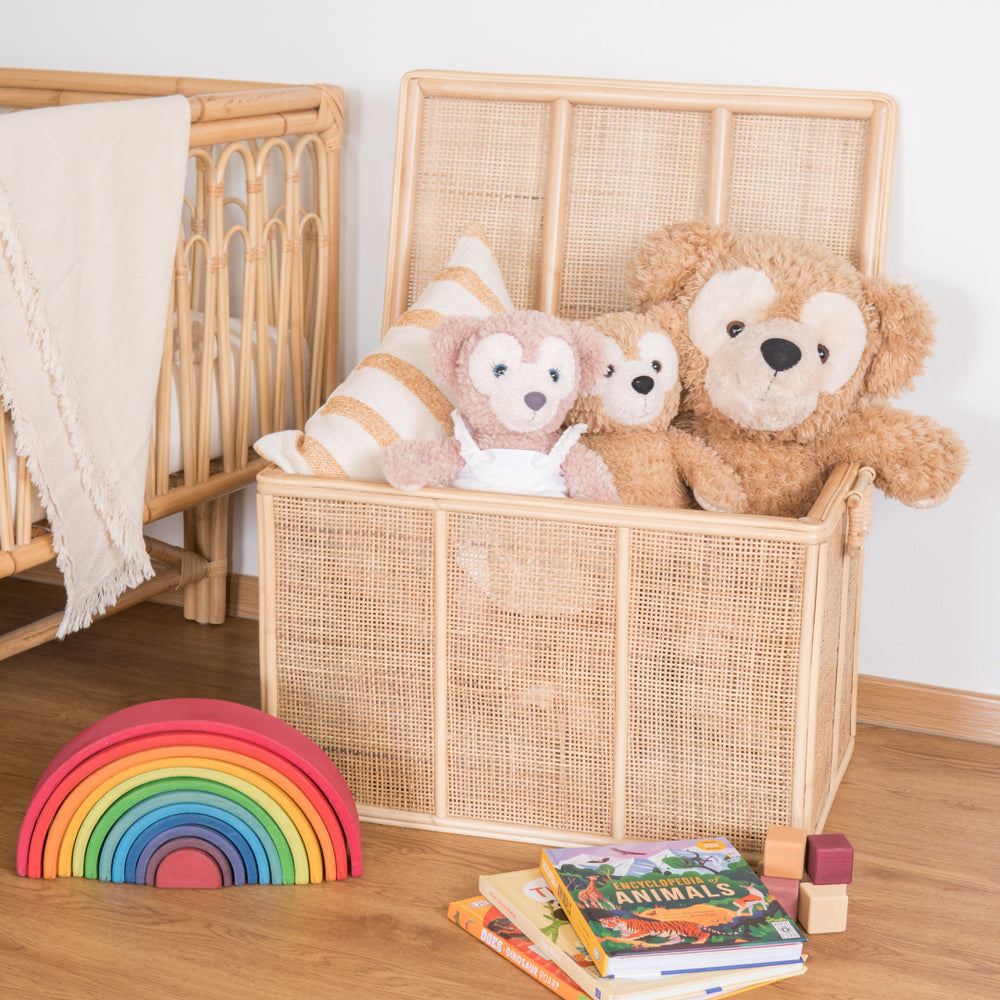 Spencer's Toys & Storage Rattan Trunk (Small & Large Bundle) | Buy Rattan Furniture and Rattan Toys Online | Kathy's Cove