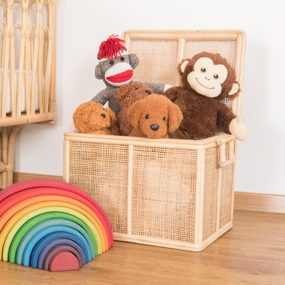 Spencer's Toys & Storage Rattan Trunk (Small) | Buy Rattan Furniture and Rattan Toys Online | Kathy's Cove