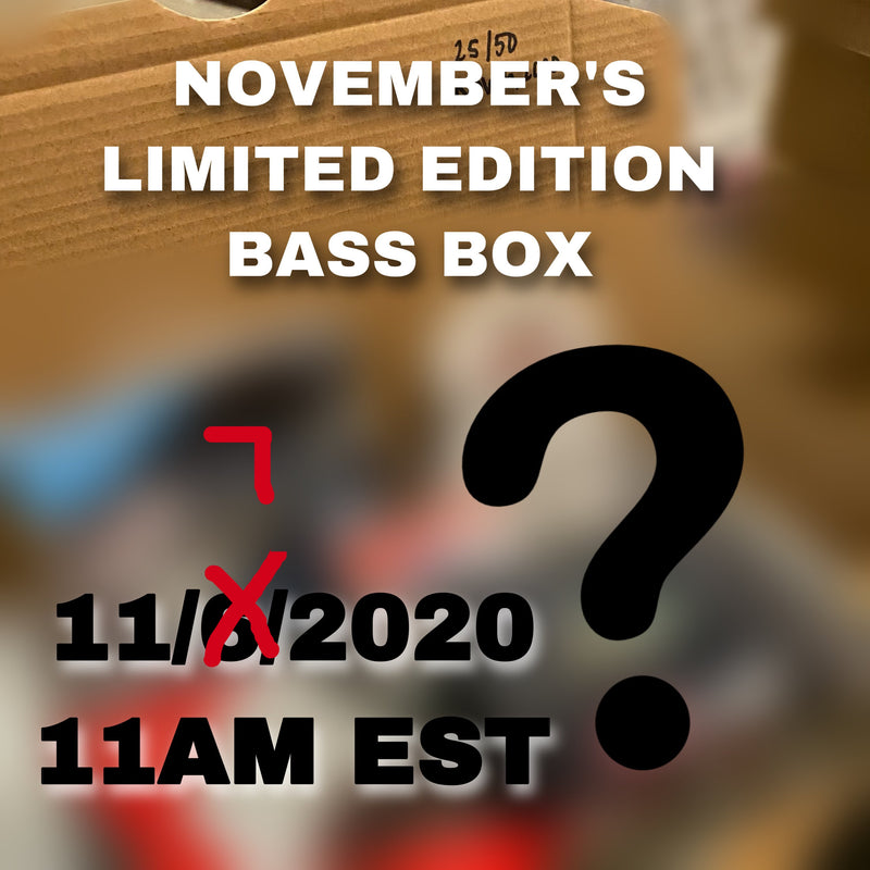 Limited Edition Top Secret Bass Box (Nov. 2020)