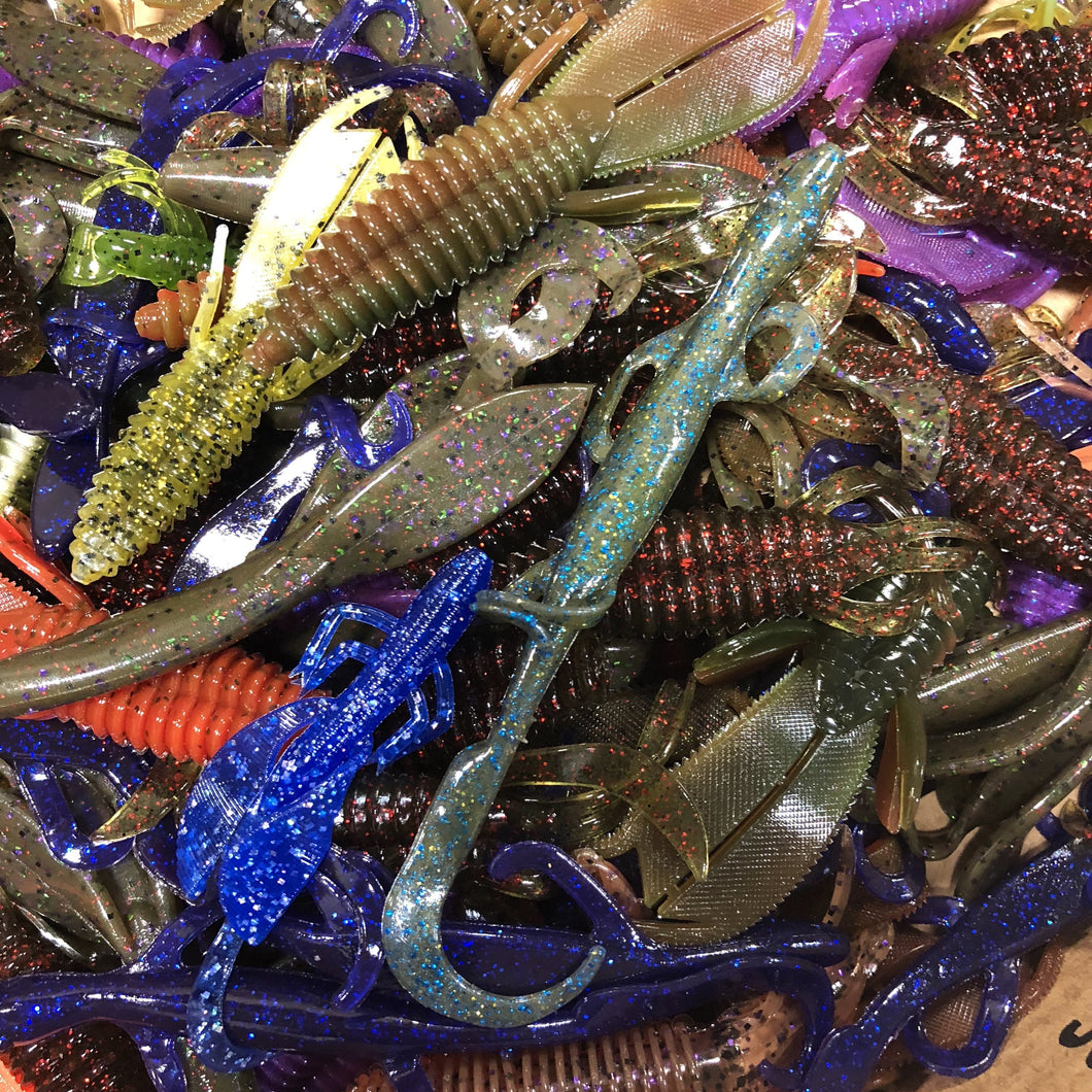 100CT Assorted Creature Baits