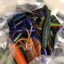 Load image into Gallery viewer, 100CT Assorted Creature Baits
