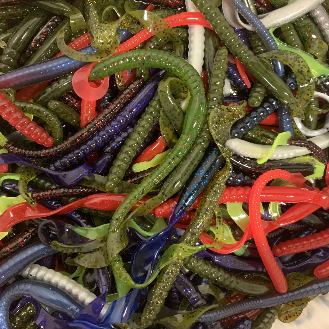 100CT Assorted Ribbon Worms