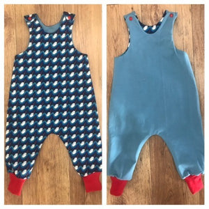 Little Miss Get Stitching - The Fully Reversible Cutie Pie Romper-Little Miss Sew n Sew