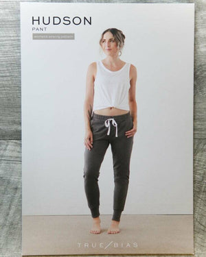 TRUE / BIAS - Hudson Pant Sewing Pattern-Little Miss Sew n Sew