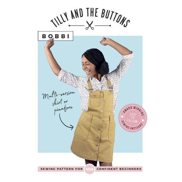 Tilly and the Buttons - Bobbi Skirt and Pinafore-Little Miss Sew n Sew
