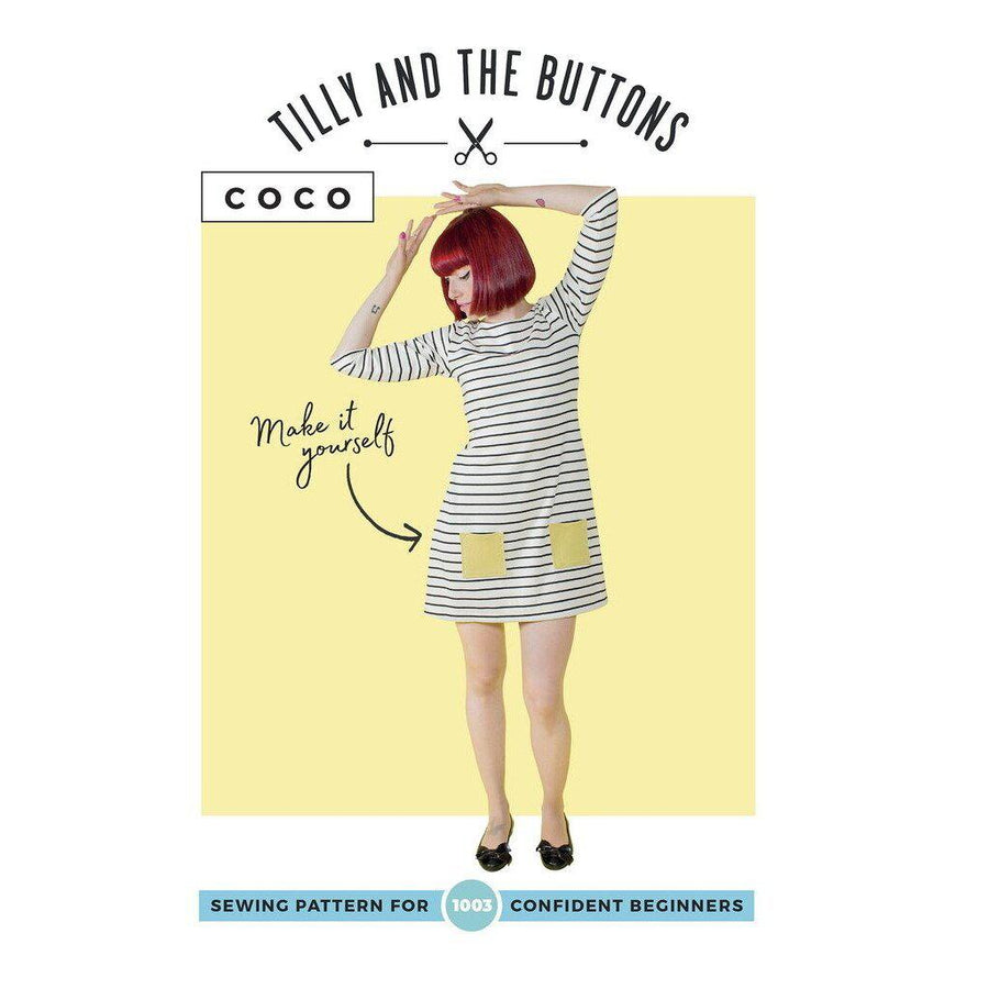 Tilly and the Buttons - Coco-Little Miss Sew n Sew