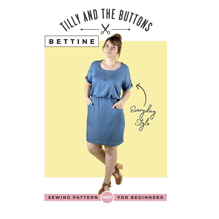 Tilly and the Buttons - Bettine sewing pattern-Little Miss Sew n Sew