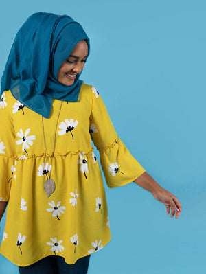 Tilly and the Buttons - Indigo Smock Top and Dress-Little Miss Sew n Sew