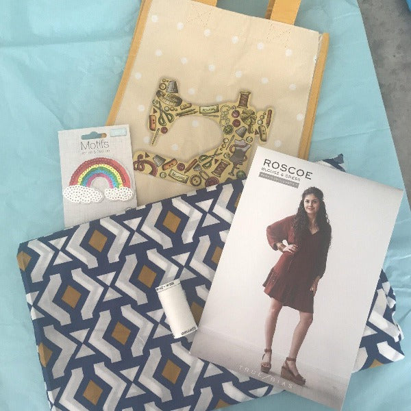 My Guilty Pleasure - The Woven Club - Monthly Subscription-Little Miss Sew n Sew