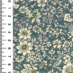 100% Cotton Poplin Print - Dresden-Little Miss Sew n Sew