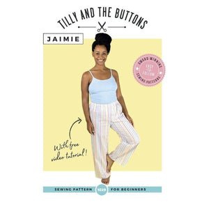 All Set to Sew - Jaimie PJ bottoms and Ogden Cami Bundle-Little Miss Sew n Sew