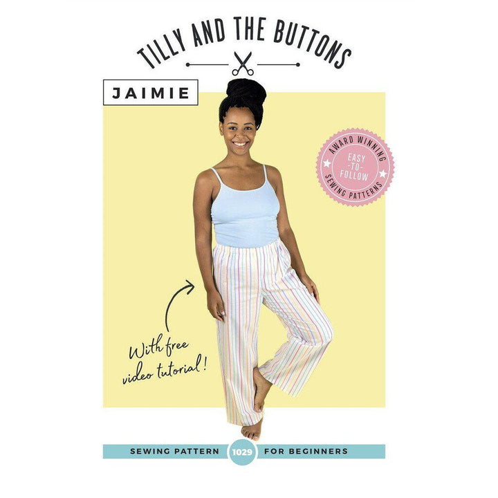 Tilly and the Buttons - Jaimie Pyjama Bottoms and Shorts-Little Miss Sew n Sew