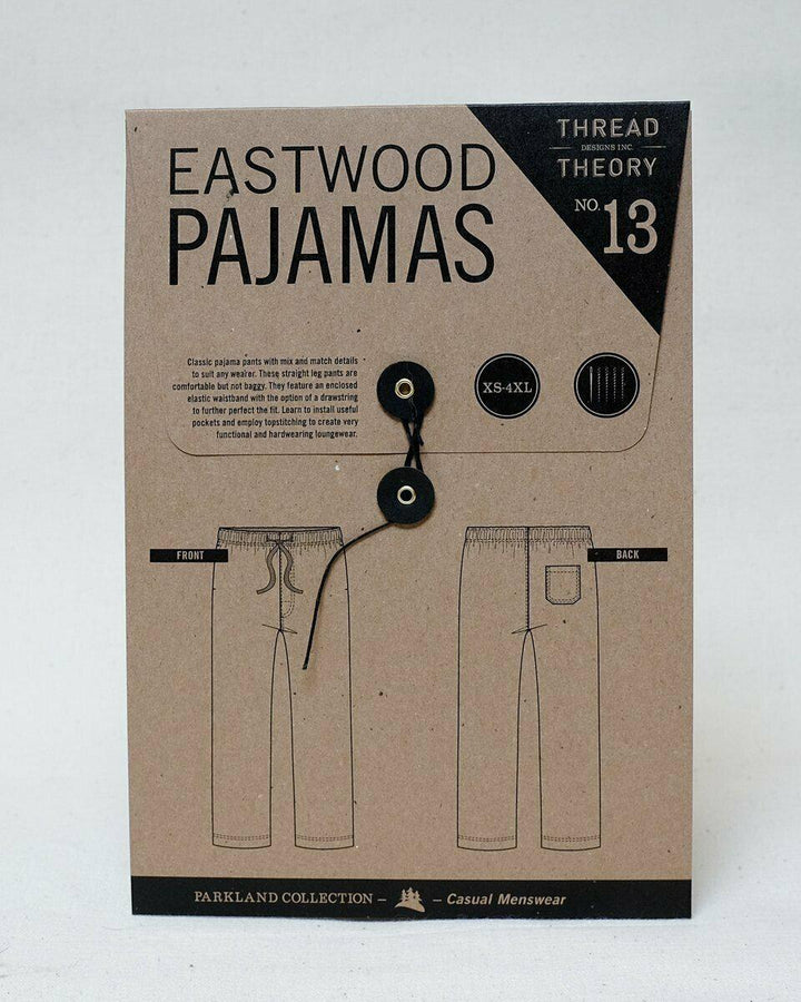 Thread Theory - Eastwood Pajamas Tissue Pattern-Little Miss Sew n Sew